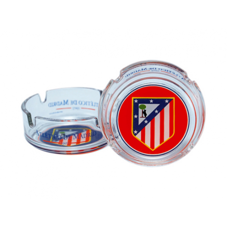 Cenicero grande del Atlético de Madrid.