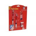 Set blister papelería pequeño del Atlético de Madrid.