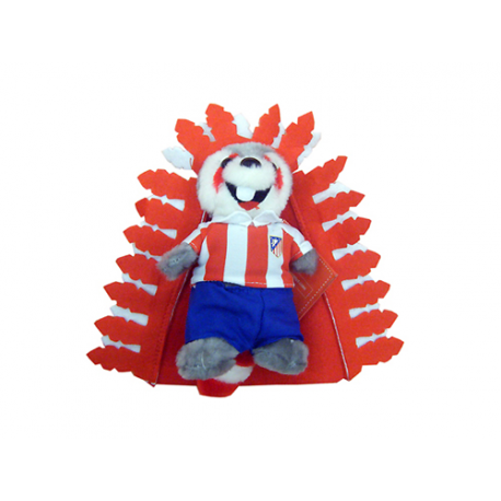 Peluche mediano mascota indi del Atético de Madrid