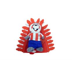 Petite peluche Indi Atlético de Madrid.