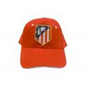 Gorra con visera del Atlético de Madrid.