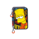 The Simpsons Small Double pencil case.