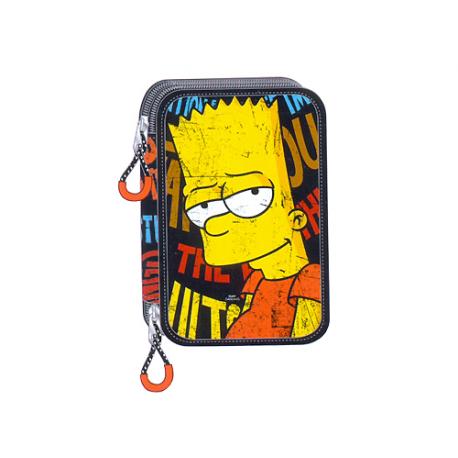 Petite trousse double Les Simpsons.