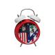Reloj despertador campana musical del Atlético de Madrid.