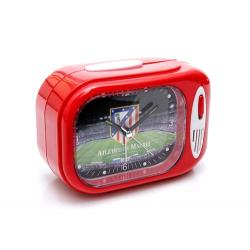 Reloj despertador himno del Atlético de Madrid.