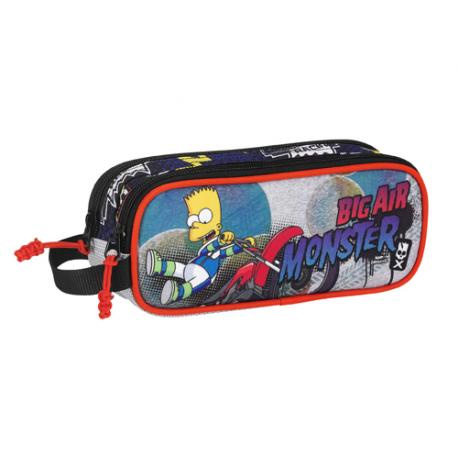 Trousse 2 compartiments Les Simpsons.