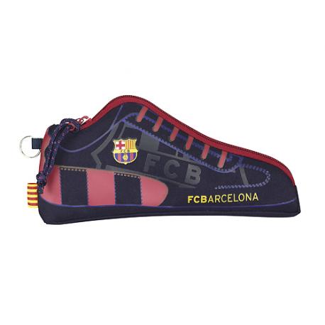 Portatodo zapatilla del F.C.Barcelona.