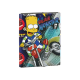 The Simpsons Folder flaps.
