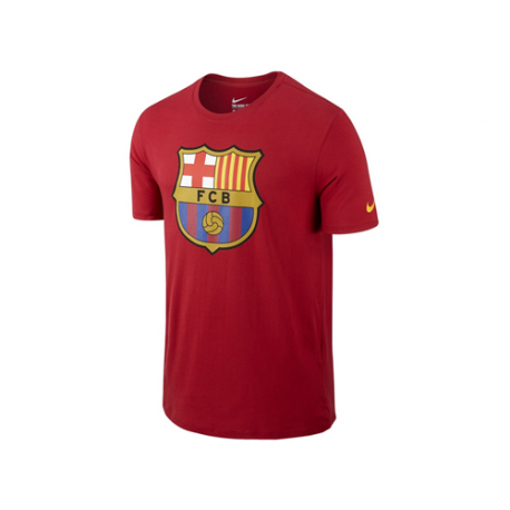 Camiseta algodón adulto F.C. Barcelona.