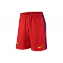F.C.Barcelona Kids Home Shorts 2015-16.