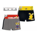 Pack de dos boxer de lycra de Los Simpsons.
