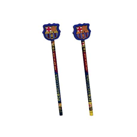 Crayon avec gomme F.C.Barcelona.