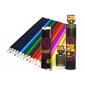 F.C.Barcelona 15 Colouring pencils.