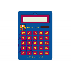 F.C.Barcelona jumbo Calculator.