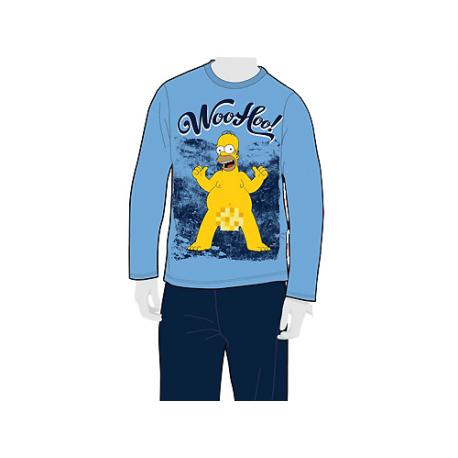 The Simpsons Adult Pyjamas Long Sleeve.