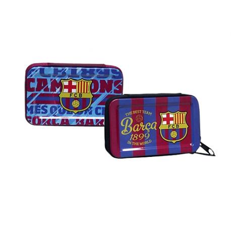 Monedero metal del F.C. Barcelona.