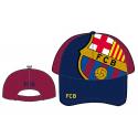 Casquette pour les bébés F.C.Barcelona.
