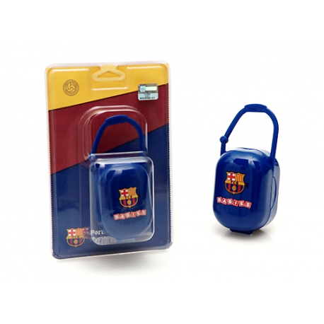F.C.Barcelona Soother carrier.