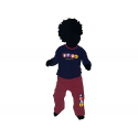 Pijama para bebé del F.C.Barcelona.