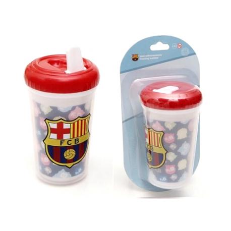 Verre gobelet à bec F.C.Barcelona.