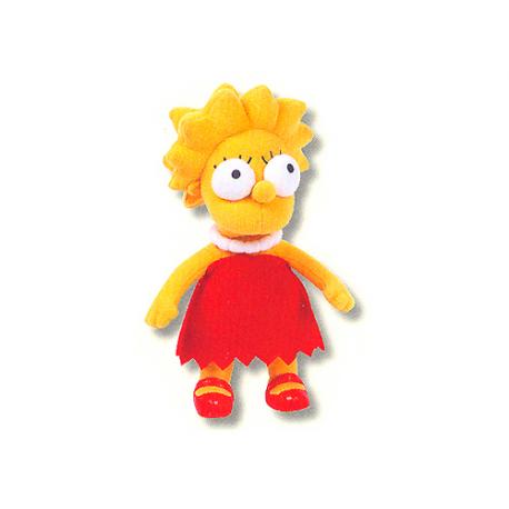 Peluche mediano de Lisa Simpson.