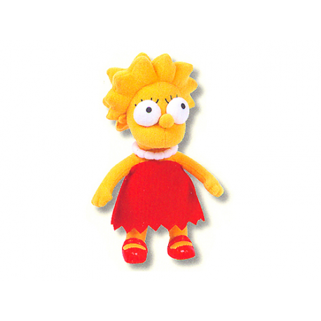 Peluche moyen Lisa Simpson.