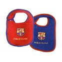 Babero bebé del F.C.Barcelona.