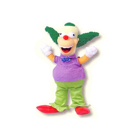 Krusty Medium Plush doll.