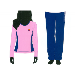 F.C.Barcelona Woman Pyjamas Long Sleeve.