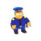 Chief Wiggum Medium Plush doll.