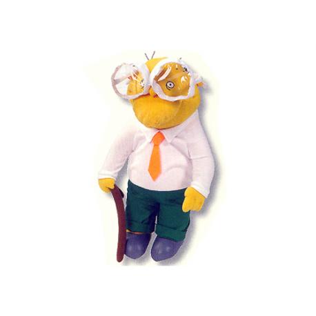 Hans Moleman Medium Plush doll.