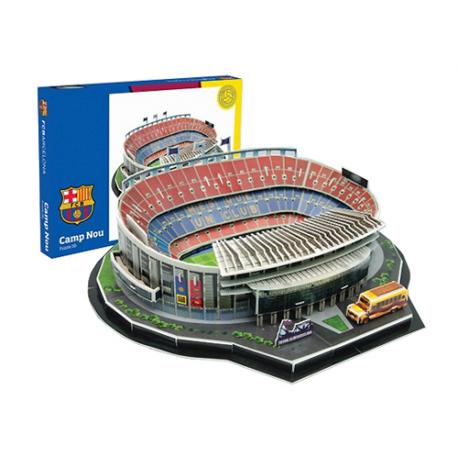 Puzzle 3D Camp Nou F.C.Barcelona.