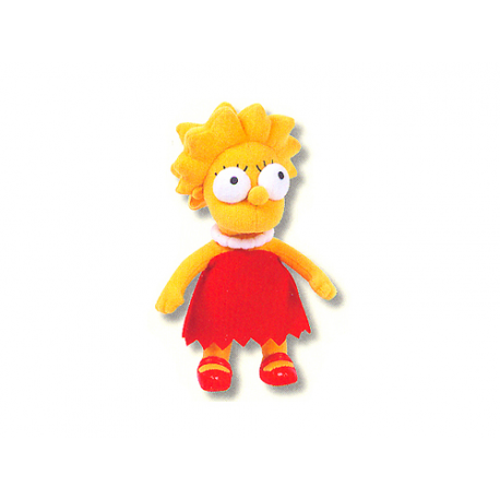 Lisa Simpson Small Plush doll.