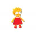 Peluche pequeño de Lisa Simpson.