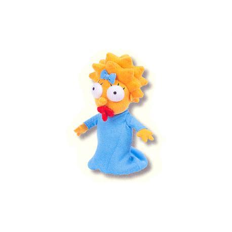 Maggie Simpson Small Plush doll.