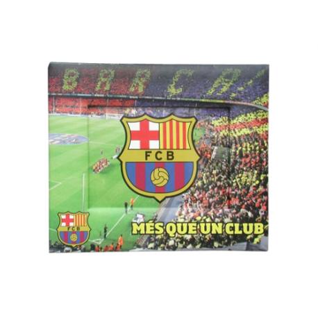 Portafotos papel del F.C.Barcelona.