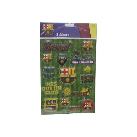F.C.Barcelona Giant Stickers.