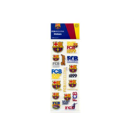 Pegatinas pequeñas del F.C.Barcelona.