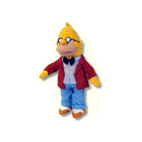 Peluche mediano de Abraham Simpsons.