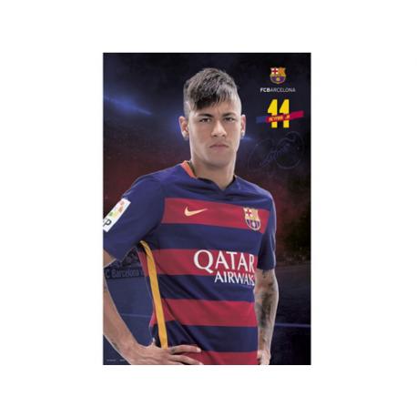 Affiche Neymar F.C.Barcelona.