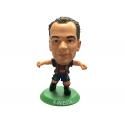 Figura jugador SoccerStarz Iniesta del F.C.Barcelona.