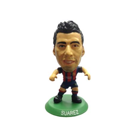 Figura jugador SoccerStarz Luis Suarez del F.C.Barcelona.