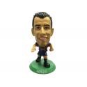 Figura jugador SoccerStarz Busquets del F.C.Barcelona.