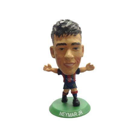 Figura jugador SoccerStarz Neymar del F.C.Barcelona.