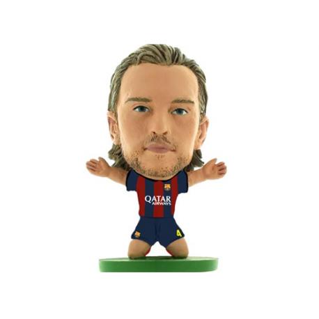 Figura jugador SoccerStarz Rakitic del F.C.Barcelona.