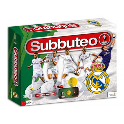 Subbuteo del Real Madrid.