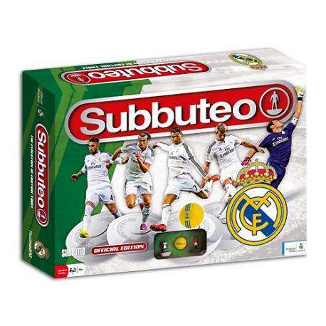 Subbuteo del Real Madrid.