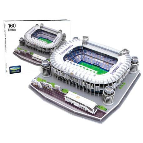 Puzzle 3D Santiago Bernabeu Real Madrid.