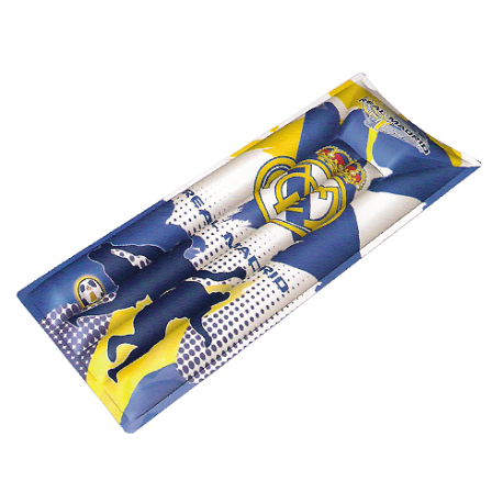 Matelas gonflable Real Madrid.