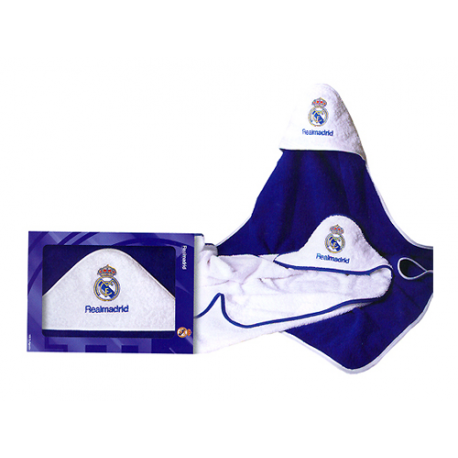 Serviette bébé Real Madrid.